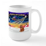 XmasSunrise/Chow #2 Large Mug