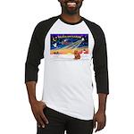 XmasSunrise/Chow #2 Baseball Jersey