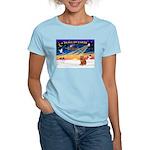 XmasSunrise/Chow #2 Women's Light T-Shirt