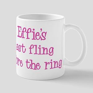 Effies last fling Mug