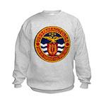 USS FARRAGUT Kids Sweatshirt