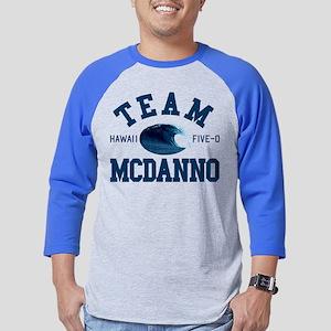 Team McDanno Hawaii Five 0 Mens Baseball Tee