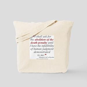 Abolish death penalty. Tote Bag