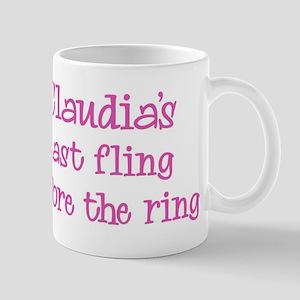 Claudias last fling Mug