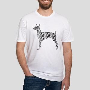 Doberman Pinscher Fitted T-Shirt