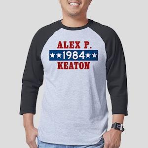 Vote Alex P Keaton 1984 Mens Baseball Tee