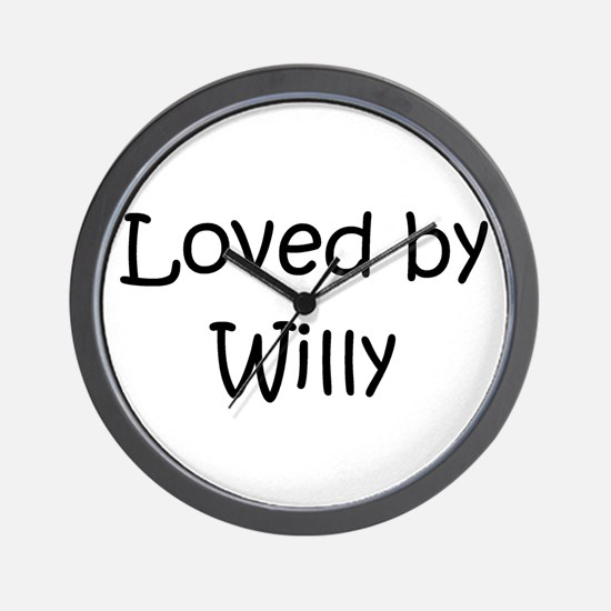 Cute Willys Wall Clock