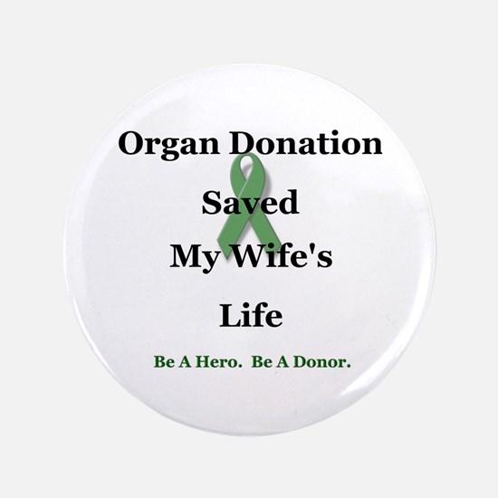 """Wife Transplant 3.5"""" Button"""
