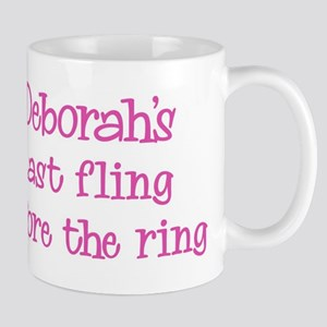 Deborahs last fling Mug