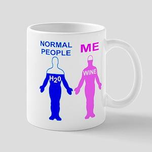 Normal People H2O Me Wine 11 oz Ceramic Mug