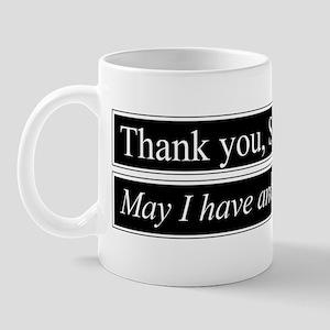 Thank You Sir Mug