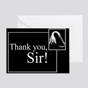 Thank You Sir Greeting Card