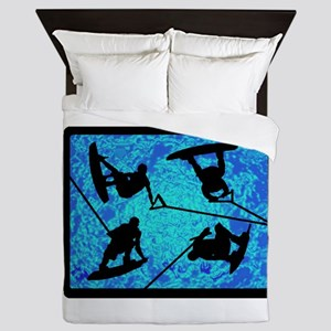 WAKEBOARD Queen Duvet