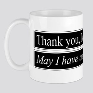 Thank You Ma'am Mug