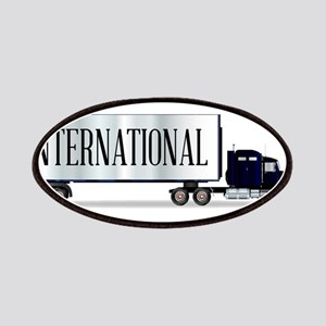 Truck Tractor Unit And Trailer With Internat Patch