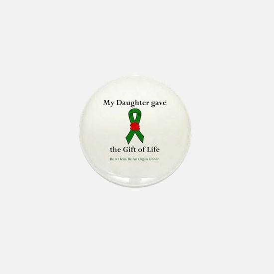 Daughter Donor Mini Button