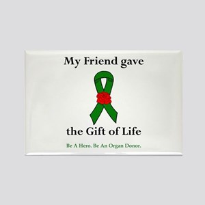 Friend Donor Rectangle Magnet