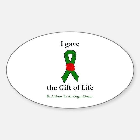 I Donor Oval Bumper Stickers