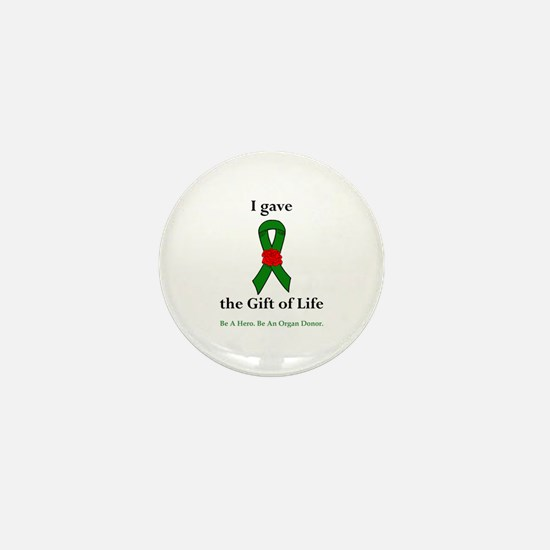 I Donor Mini Button
