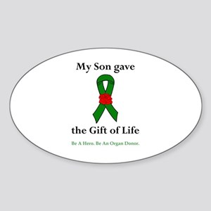 Son Donor Oval Sticker