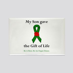 Son Donor Rectangle Magnet