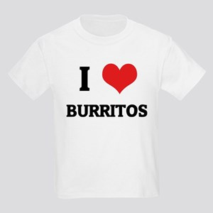 I Love Burritos Kids T-Shirt