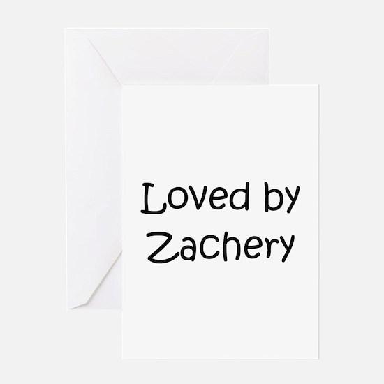 Cute Zachery Greeting Card