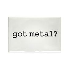 got metal? Rectangle Magnet (100 pack)