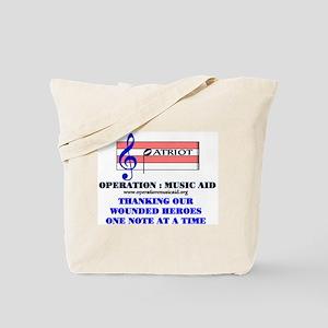 Operation Music Aid (Patriot) Tote Bag