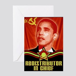 Redistributor In Chief Greeting Card