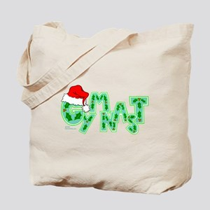 Santa Gymnast Tote Bag
