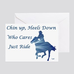 Just Ride - Greeting Card