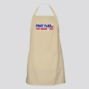 Fruit Flies for Obama BBQ Apron