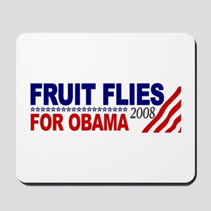 Fruit Flies for Obama Mousepad