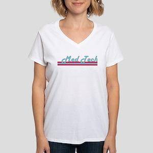 Med Tech Logo Women's V-Neck T-Shirt