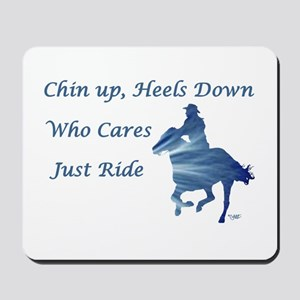 Just Ride - Mousepad