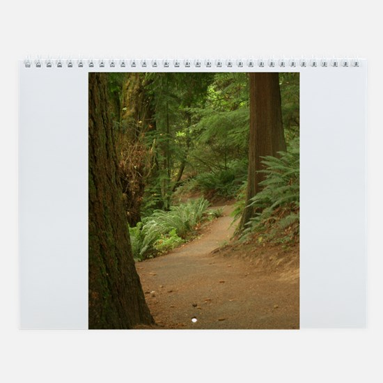 Woods and Trails  Wall Calendar