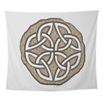 Celtic Knotwork Coin Wall Tapestry