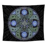 Celtic UFO Mandala Wall Tapestry