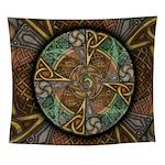 Celtic Aperture Mandala Wall Tapestry