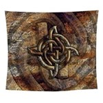Celtic Rock Knot Wall Tapestry