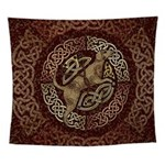 Celtic Dog Wall Tapestry