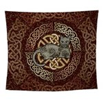 Celtic Cat Wall Tapestry