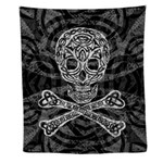 Celtic Skull and Crossbones Wall Tapestry