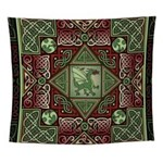 Celtic Dragon Labyrinth Wall Tapestry