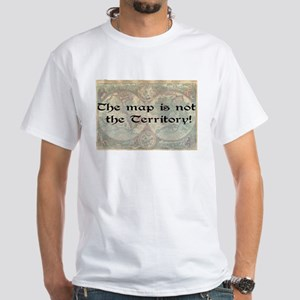 The map White T-Shirt