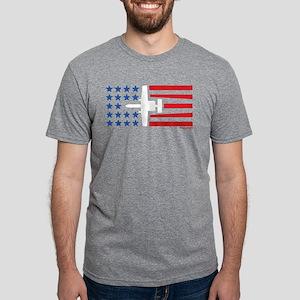 Warthog Attack Jet Stars And Stripes T-Shirt