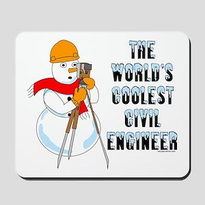 Coolest Civil Engineer Mousepad