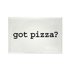 got pizza? Rectangle Magnet (100 pack)