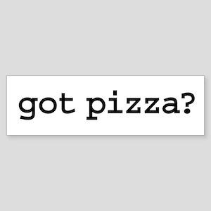 got pizza? Bumper Sticker